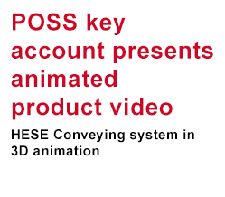POSS key account presents animated product video
